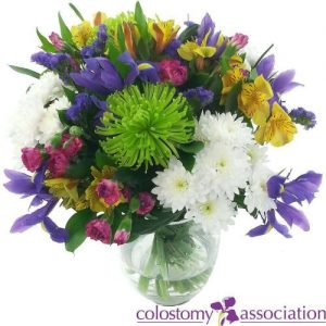 Colostomy UK Charity Bouquet